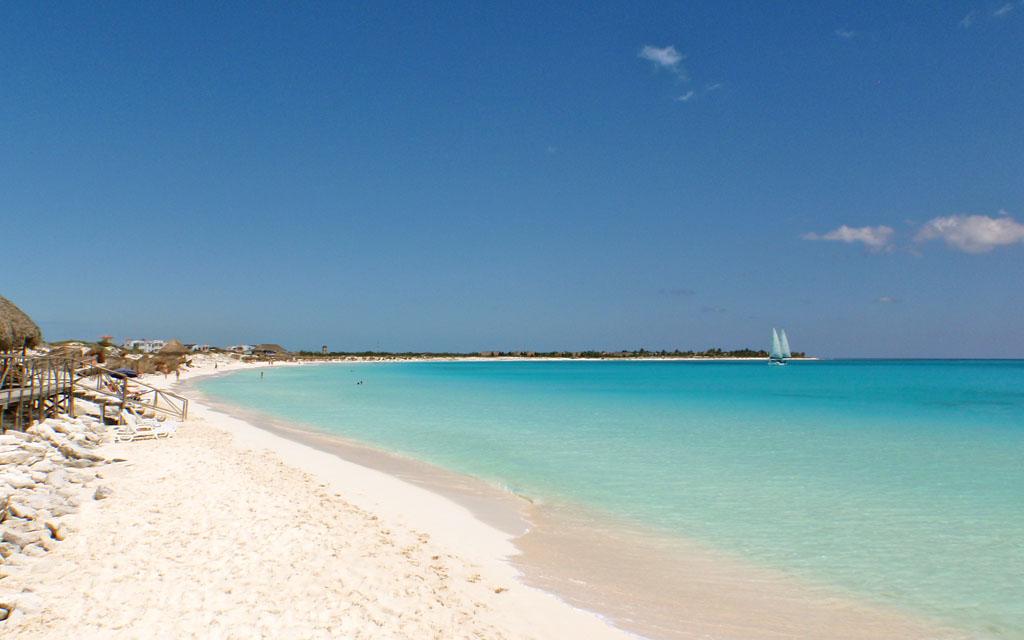Playa paraiso en cayo largo del sur